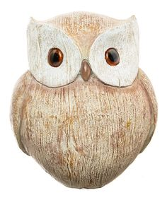 Look at this Owl Figurine on #zulily today!