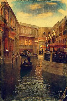"""""""The Grand Canal Shoppes"""" by Maria Angelica Maira    http://fineartamerica.com/featured/the-grand-canal-shoppes-maria-angelica-maira.html"""