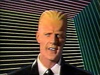 Max Headroom....I dont' even know what to say about this.  LOL