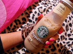 Frappuccino in the bottle