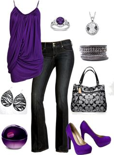 Violet Night Out - love