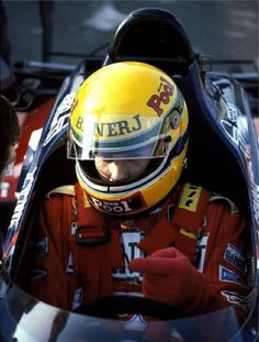 Ayrton Senna 1984: