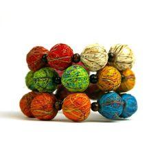 Fique Eco Friendly Bracelet, multicolor   http://www.enloops.com/Fique-Eco-Friendly-Bracelet-multicolor/dp/B00BSKJSPO