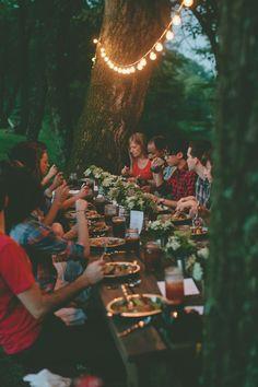 Ideias giras para receber os amigos para jantar