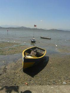 Um olhar sem filtro.  O que sobrou do Mar de Sepetiba-RJ .  O mar se foi , O homem ficou E a esperança ?