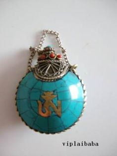 Tibetan Turquoise Carved Snuff Bottle