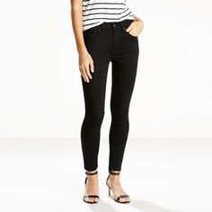 Your ultimate look-amazing styles with innovative stretch denim designed to flatter, hold and lift. Our 721 High Rise Skinny is a modern pin-up fit. This is a staple in your skinny jean collection, and the one you�ll wear over and over. The high rise hugs your waist and the skinny leg elongates your silhouette, showing you off in all the right ways. This pair is cut from stretch fabric that's engineered for comfort.