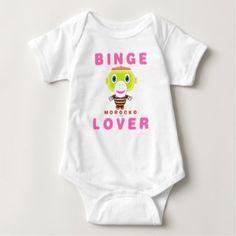 Baby Bodysuit    Binge Lover By Morocko - shower gifts diy customize creative