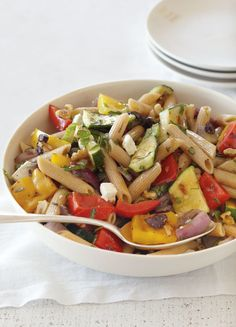 Grilled Vegetable Pasta Recipe | Williams Sonoma Taste