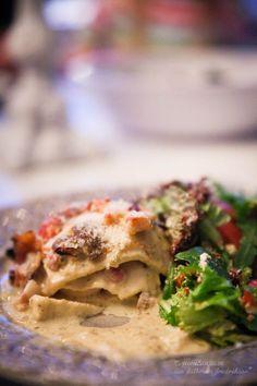 Lasagne a la Chicken Alfredo LCHF / Low carb - 56kilo - inspiration, hälsa och matglädje