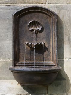 Wall Fountain Outdoor seaside outdoor wall fountain | style = beachy | pinterest