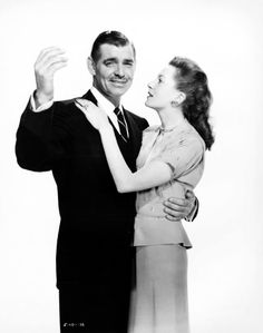 Clark Gable and Deborah Kerr in The Hucksters 1947