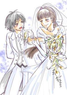 ANSATSU KYOUSHITSU/ASSASSINATION CLASSROOM, Fan Art,  Isogai Yuma, Kataoka Megu, Wedding Suit