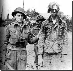 HISTORY IN IMAGES: Pictures Of War, History , WW2: American Soldiers Hated Waffen SS Prisoners.....