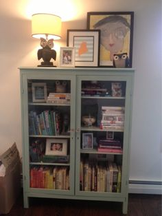 Modern Cottage DIY Bookcase Wythe Blue. I have this bookcase, maybe I'll redo mine.