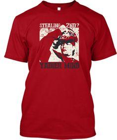 Stealing 2nd? Yadier Mind Shirt