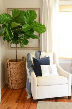IRON & TWINE: What's Your Style Series | Our Living Room Design & Giveaway