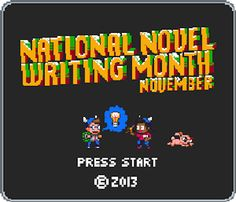 Very close to @NaNoWriMo! How's everyone doing?