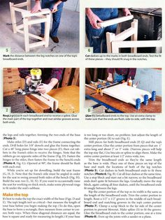 Folding Wood Carving Bench Plans - Wood Carving