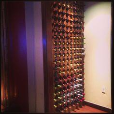 Wine rack / wall.   I want it!