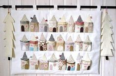 If I did Advent calendars, I'd do this one. I think you have to have children to hang Advent calendars.