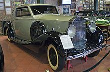 1938 Rolls-Royce Wraith with closed coupe bodywork by De Villars