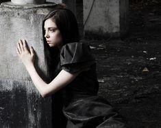 Gothic photography - Model: Justine Daaé Gothic Photography, Gothic Beauty, Jon Snow, Scenery, Photo And Video, Landscape, Model, Inspiration, Instagram