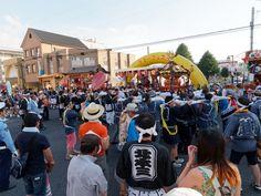 サマーフェスタ (2015/7/25) 今年は北本1-4丁目の夏祭りとタイアップ!
