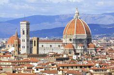 Santa María del Fiore, en #Florencia. Soñando con otros lugares: los 101 monumentos más famosos del mundo #viajes #travel #Italia