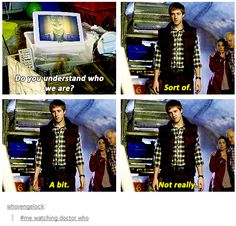 """Me watching Doctor Who. Rory is that companion who Moffat gave us so that we always know the Doctor does pick up people like us. Rory is us.<--- """"rory is us. Doctor Who, Eleventh Doctor, Watch Doctor, Rory Williams, Amy Pond, Don't Blink, Torchwood, Geronimo, Time Lords"""