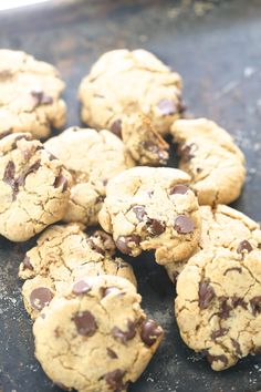 Another Paleo Chocolate Chip Cookie, but with cassava flour