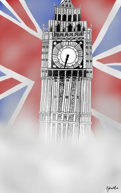 Big Ben ...another digital piece 😄 one of my favorite drawings