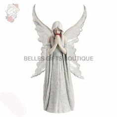 Nemesis Now Only Love Remains Fairy Figurine by Anne Stokes Angel Ornament - UK Figurine and Statues Single Red Rose, Anne Stokes, Angel Sculpture, Winter Fairy, Fairy Figurines, Tumblr, Memorial Gifts, Beautiful Artwork, Original Paintings