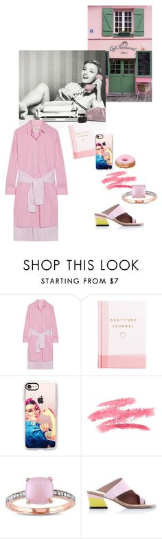 """""""Untitled #1539"""" by sunnydays4everkh ❤ liked on Polyvore featuring La Maison, Maison Margiela, Thrive, Casetify, Miadora and Abcense"""