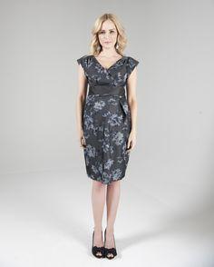 983c110c3b Crave - Grey flowered print dress (RRP £85) 5 day rental £35