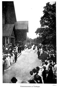 Commencement at Tuskegee Institute - June, 1920