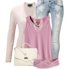 Pastel & Lace, created by kswirsding on Polyvore