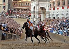 ...back to Sienna, Italy for the palio
