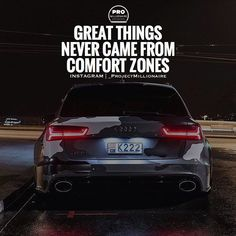 Everything you dream of lies outside of your comfort zone. Audi Quotes, Motivational Quotes For Success, Inspirational Quotes, Qoutes, Life Quotes, Reading Goals, Gentleman Quotes, Knowing Your Worth, Success Mindset