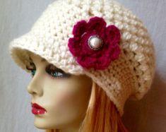 Crochet el sombrero de las mujeres vendedor de por JadeExpressions