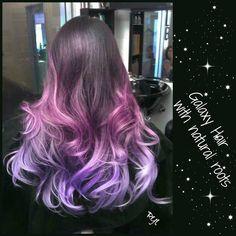 Galaxy Hair Colour inspiration ♡ Rock your Locks
