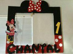 Marco para fotos Minnie Mouse