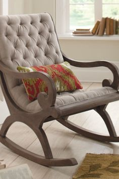 Grayson Rocker. I have the rocker, just wonder how hard it would be to cushion it?