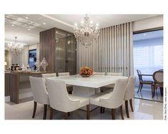 lustre moderno sala de jantar