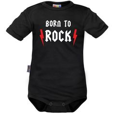 Body bébé rock : BORN to ROCK