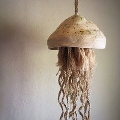 Macrame and Rope sculpture Jellyfish 6 | Etsy
