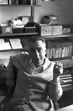 Roland Barthes by Henri Cartier-Bresson - not sure about the death of the author, but he certainly made an impression!