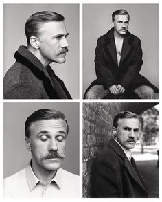 Christoph Waltz, photographed by Alasdair McLellan for Fantastic Man A/W 2014.