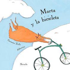 Portada del álbum ilustrado de Albertine Marta y la bicicleta Hans Christian, Tapas, Thing 1, Free Apps, Audiobooks, Ebooks, Chart, Reading, Illustration