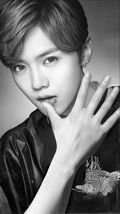 I know he's C-pop but I didn't know where else to put him Taemin, Park Chanyeol, Baekhyun, Hunhan, Exo Ot12, Exo Korean, Happy Pictures, Kris Wu, Flower Boys